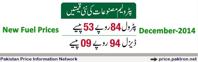 New Petrol Price in Pakistan