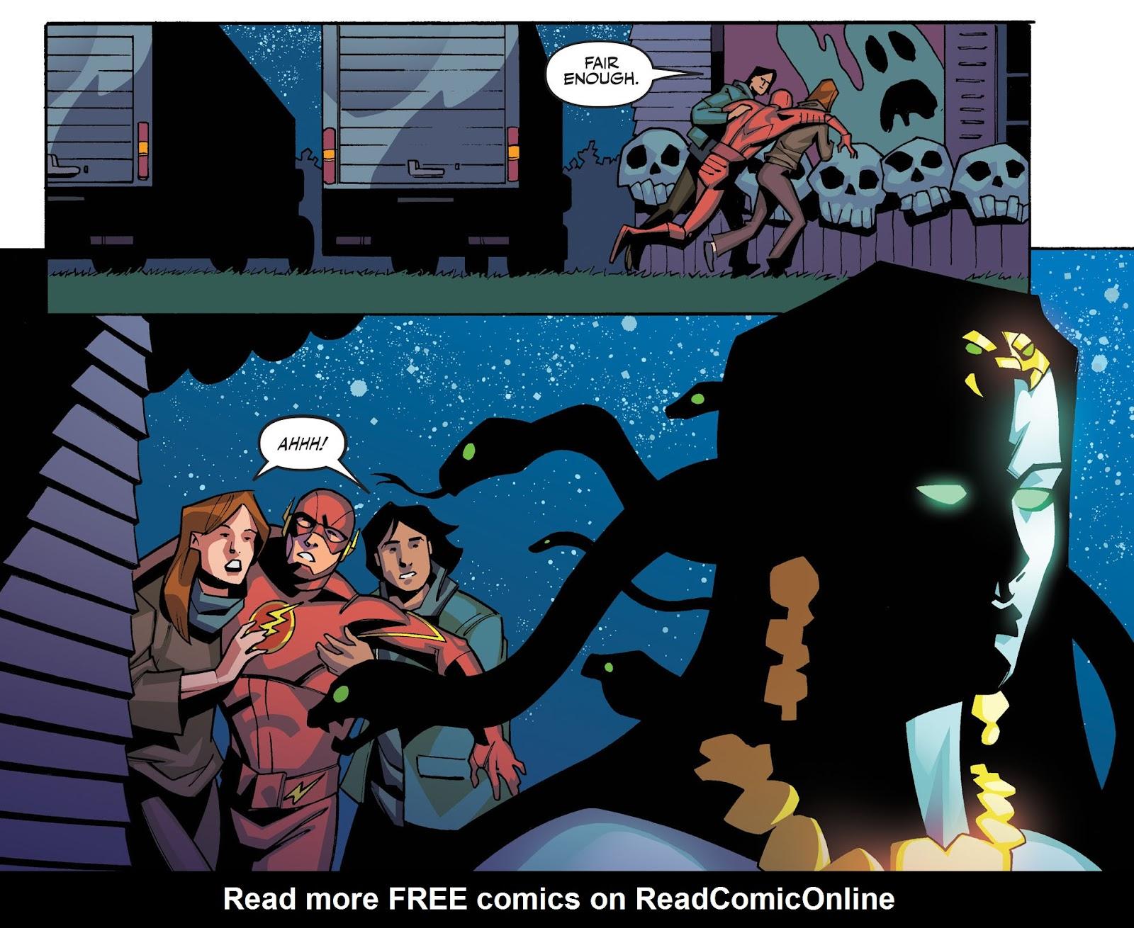 The Flash: Season Zero [I] Issue #6 #6 - English 12