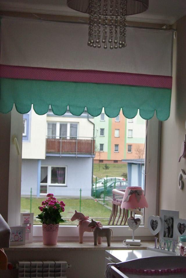 zasłona do okna, okno w dzieciecym pokoju, zasłona dla dziecka