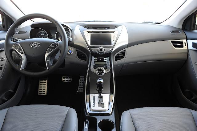 передняя торпеда Hyundai Elantra Coupe 2013