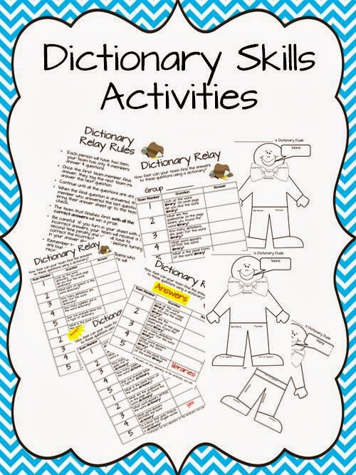 The Book Bug: Dictionary Skills