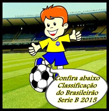 Classificação do Brasileirão B 2015
