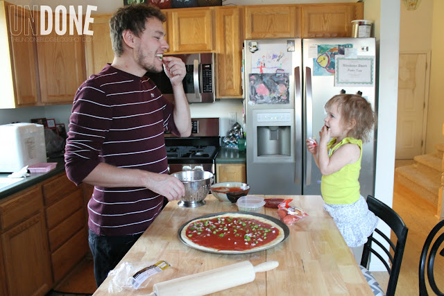 UNDONE: Daddy dinnertime