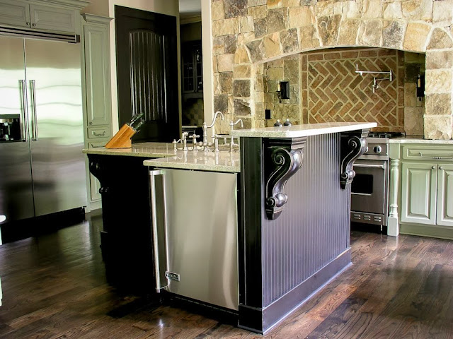 A gorgeous one of its kind french styled chateau estate - Commercial grade kitchen appliances ...