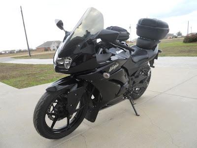 Ninja 250 touring modif