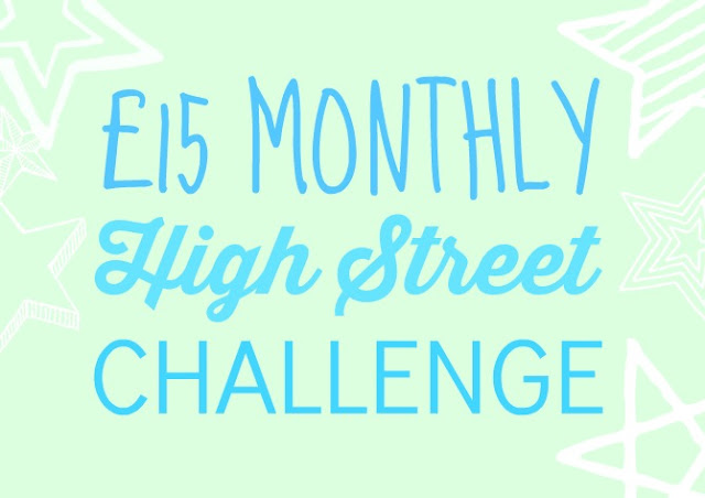 £15 high street challenge May