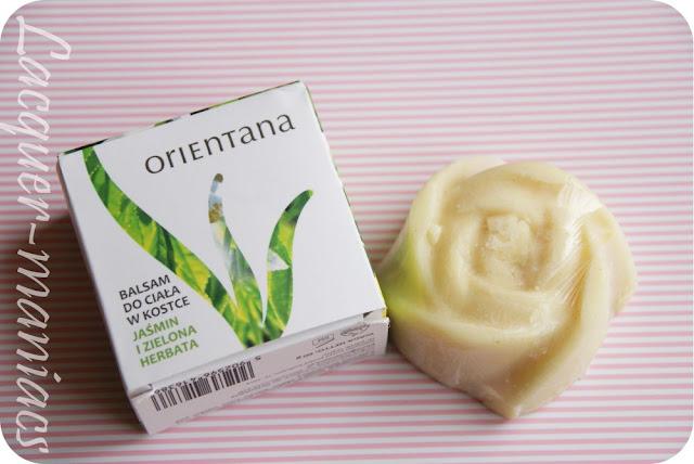 Orientana balsam w kostce jaśmin i zielona herbata