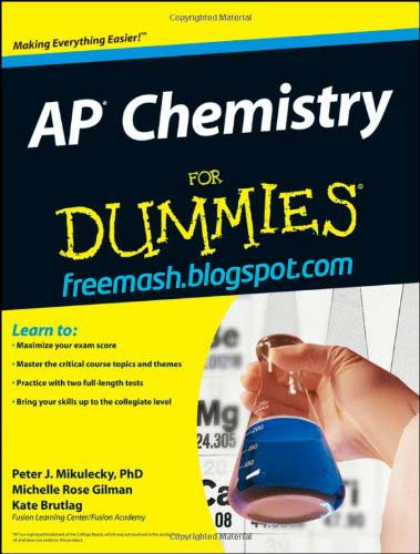 AP Chemistry for Dummies PDF Ebook Free Download