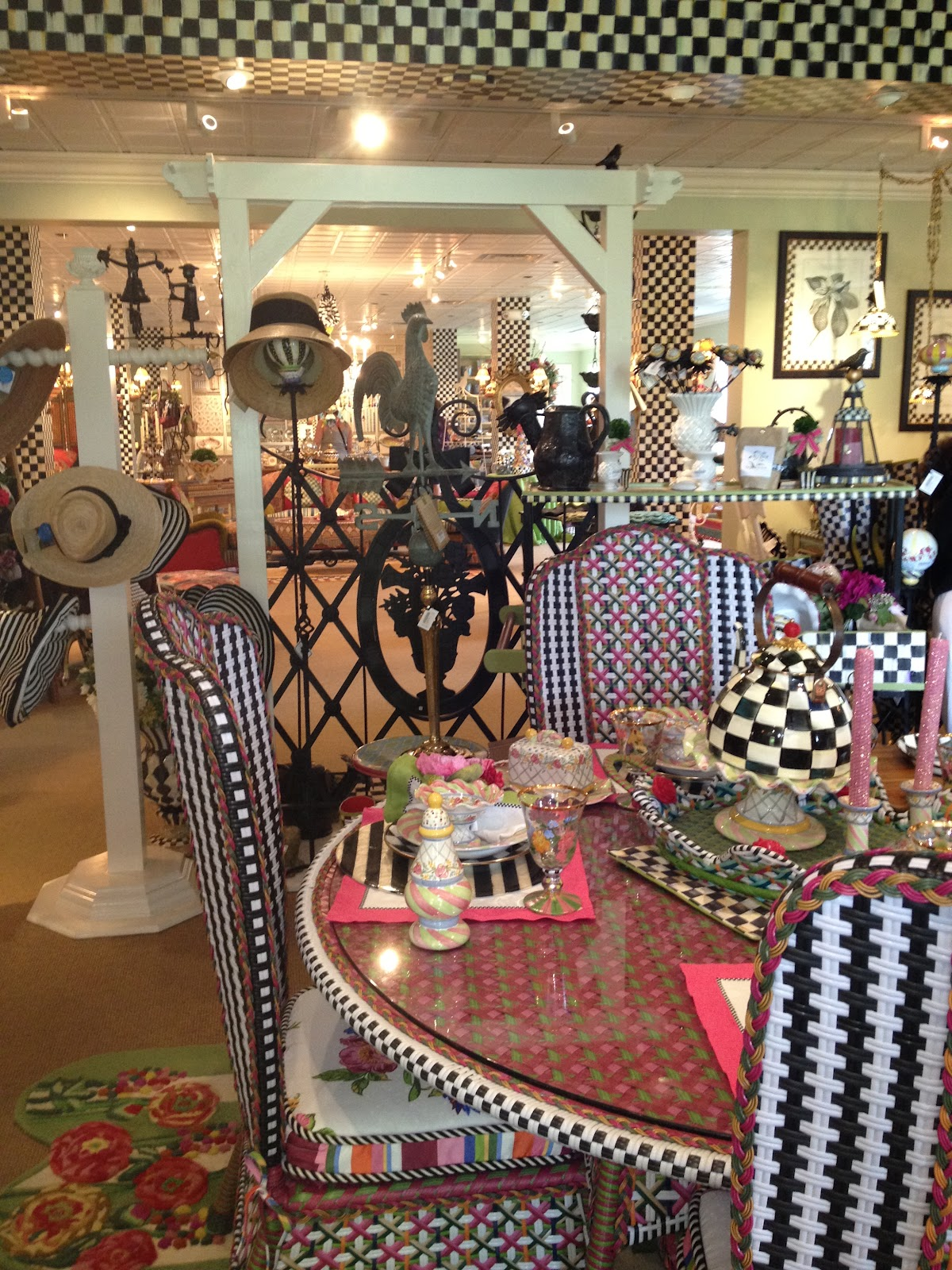 Home decorating help more mackenzie childs fabulocity for Home decor items on sale