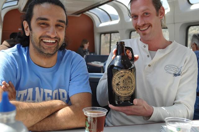 California zephyr amtrak train ride journey united states beer