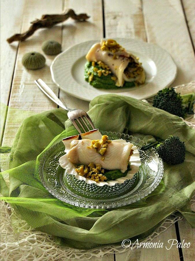 Involtini di Sogliola con Purè di Broccoli di Armonia Paleo