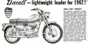 Ducati 250 cc Monza