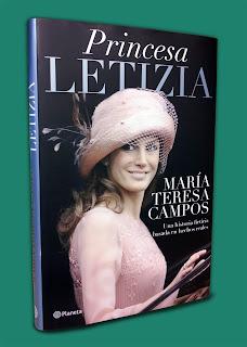 Portada del libro Princesa Letizia