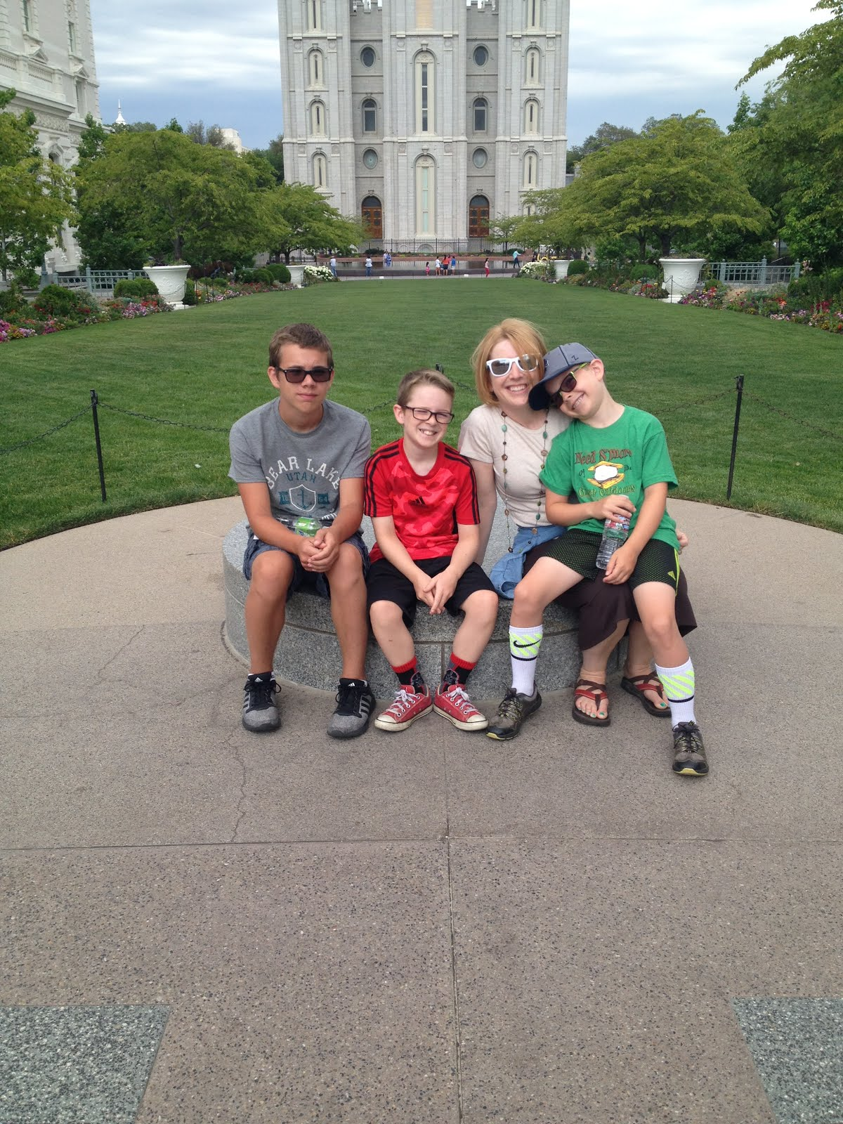 At Temple Square Summer 2016