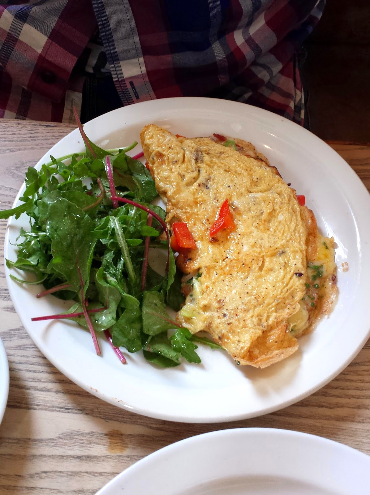 Apiary restaurant Edinburgh brunch omelette