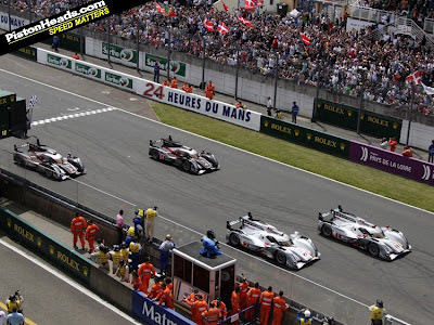 A VITRIA DA AUDI EM LE MANS E UM MARCO TECNOLGICO