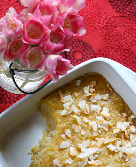 thai food blog baked rice pudding