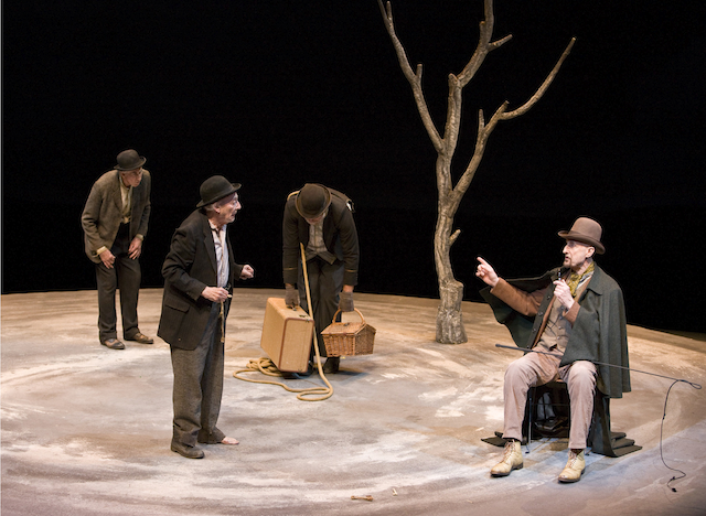 a critique of waiting for godot a play by samuel beckett A literary analysis of the metaphors found in waiting for godot by samuel beckett all through the play, vladimir and estragon endeavor to cheer each other in their ceaseless sit tight for the puzzling godot whom they.