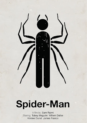 Spiderman Poster by Victor Hertz