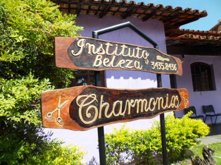 Placa Salão Charmonix