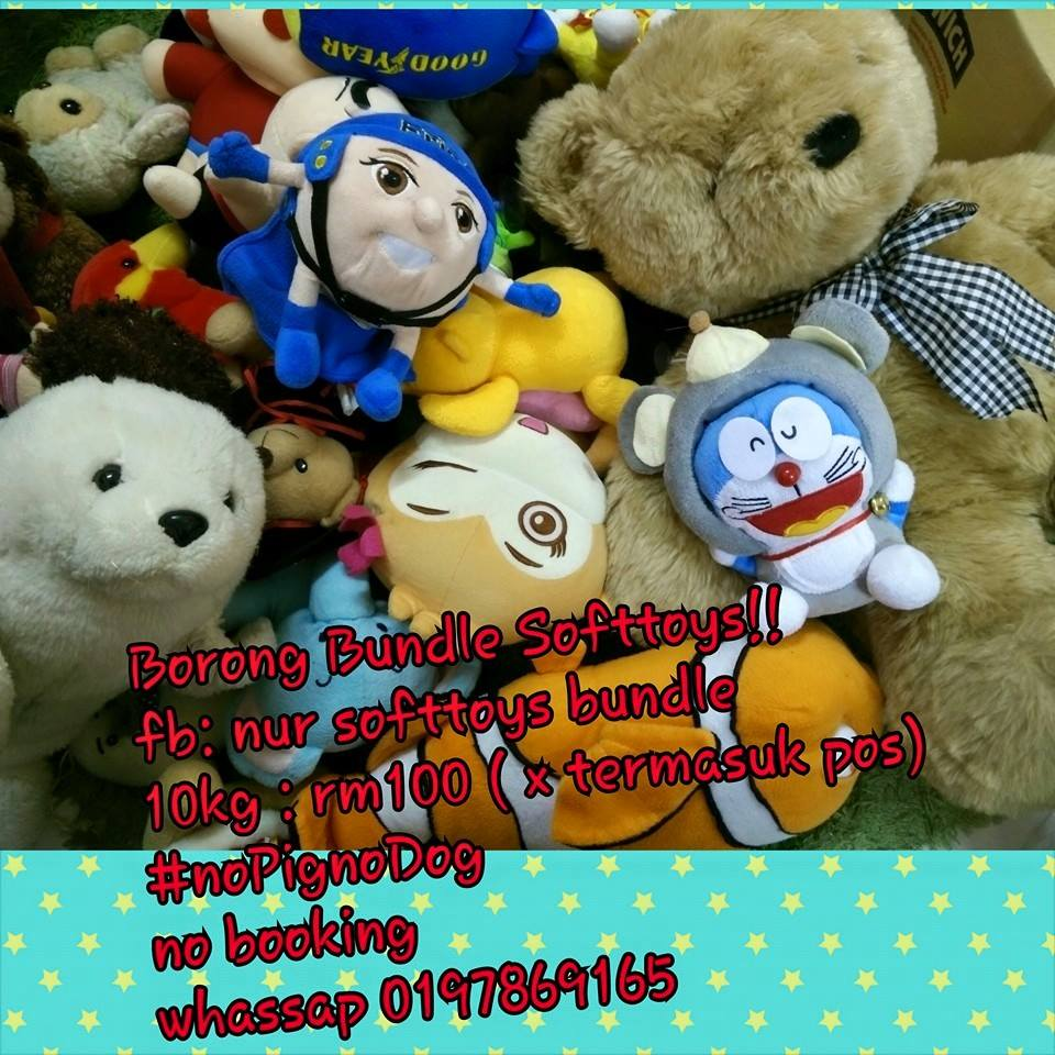 Pemborong Softtoys BUndle