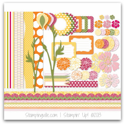 Stampin' Up! Playful Polka Dots Digital Kit