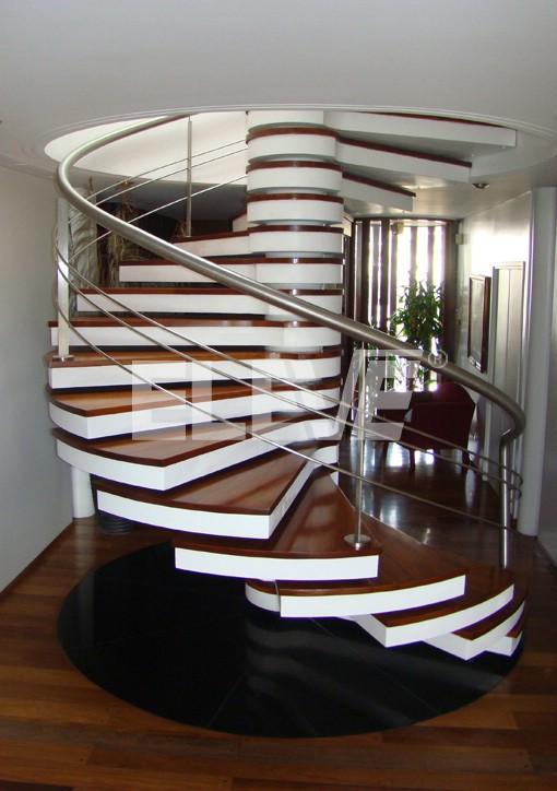 Fotos de escaleras escalera para casas tattoo design bild - Escaleras interiores para casas ...