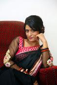Nidhi Natuiyal Glamorous Photos in Saree-thumbnail-16
