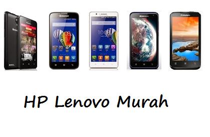 Harga Hp Lenovo Android Murah Terbaru