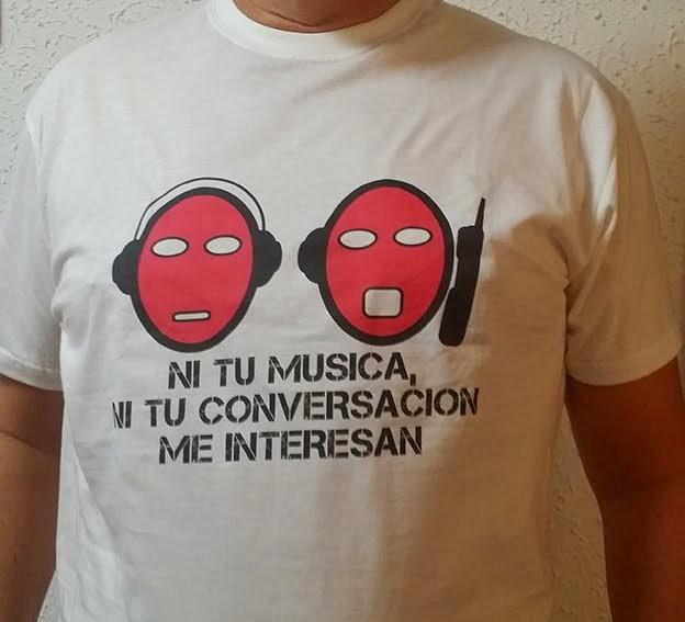 Camiseta contra el Ruído