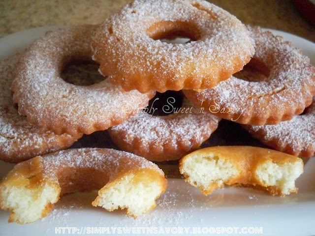 Simply Sweet 'n Savory: Fried Doughnuts ( Cake Doughnuts ) ~ No yeast