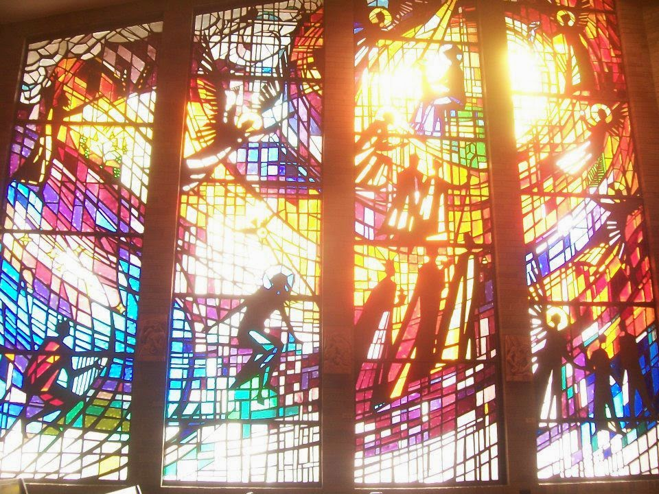St Gabriel Windows