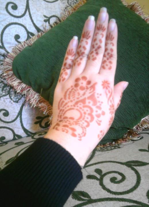 Belajar Henna Menggunakan Cetakan Henna Belajar Mehndi Inai Henna