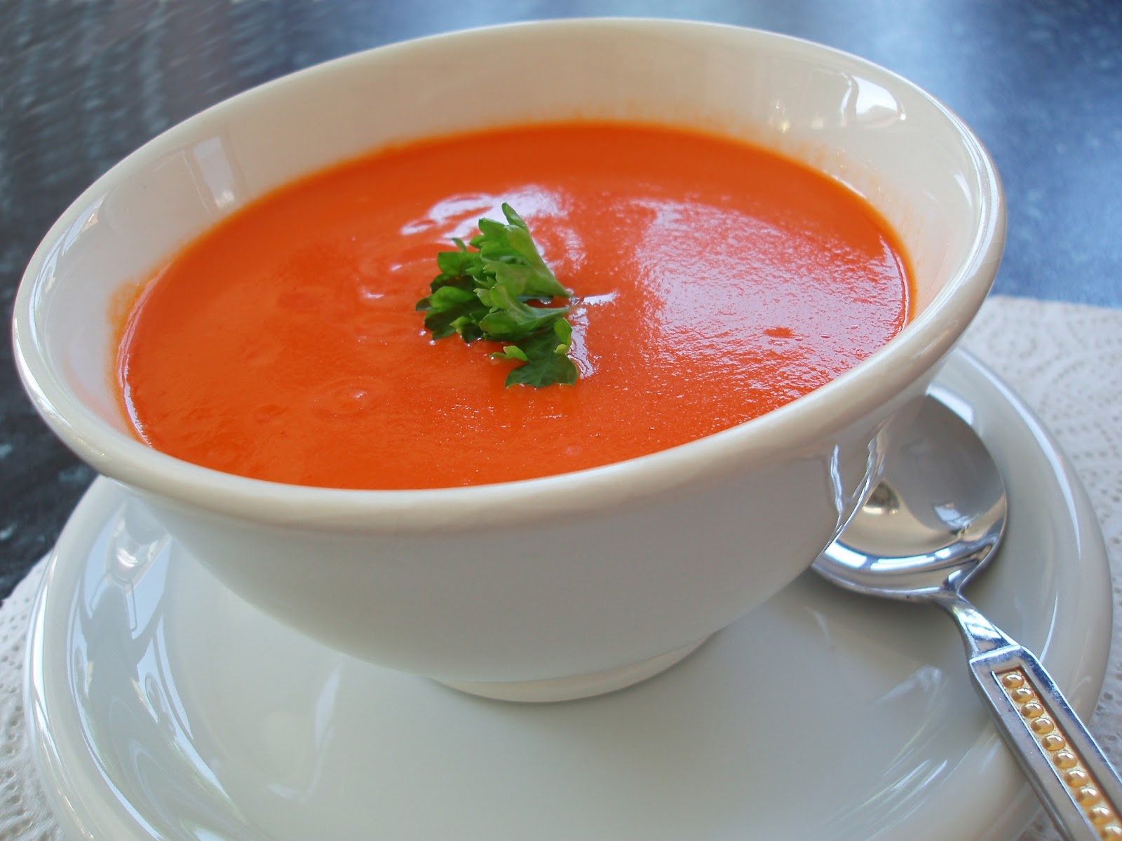 Tomato Basil Soup Recipe