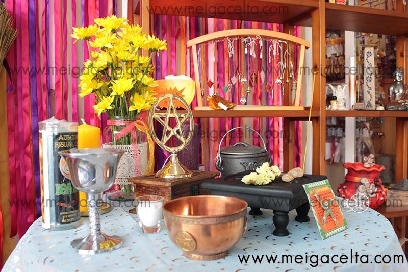 Altar Ritual San Juan Litha Meiga Celta Tienda Esoterica Wicca Tarot Santeria Diosas Tradiciones Leyendas Celtas