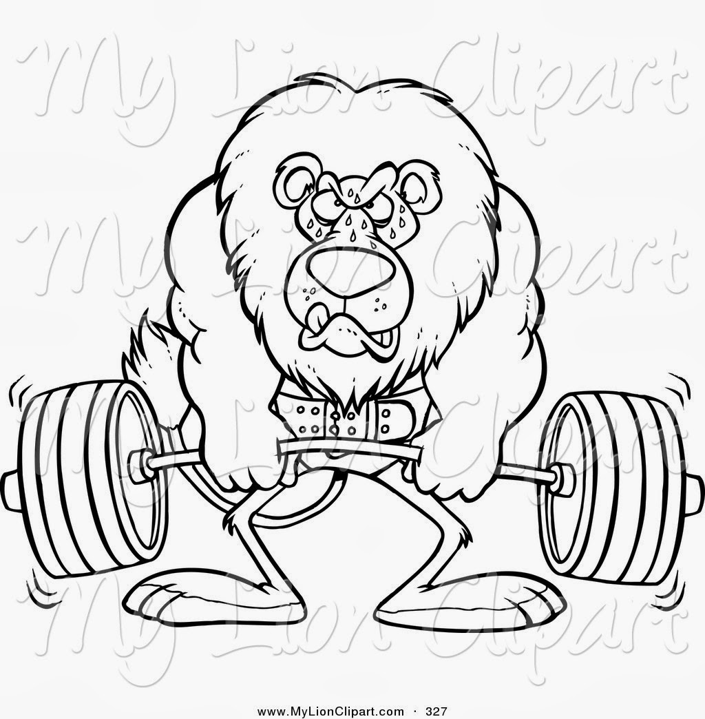 gym weights coloring pages - photo#10