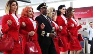 VIDEO: O companie aeriană lansează o cursă cu piloţi şi echipaj exclusiv LGBT...