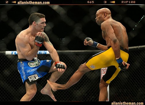 UFC fighters fear for Anderson Silva's career after injury