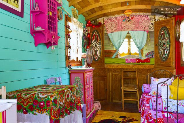 Relaxshacks an unbelievable french caravan gypsy
