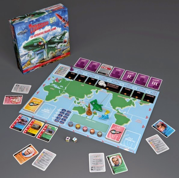 Thunderbirds Cooperative Board Game