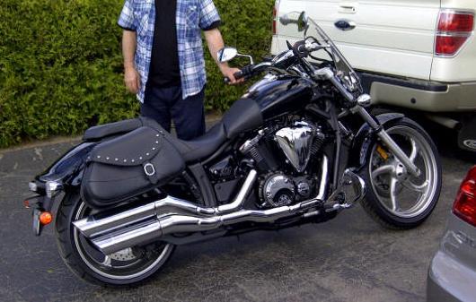 Yamaha stryker saddlebags for Yamaha stryker saddlebags