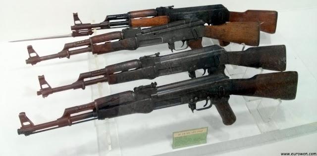 Fusiles usados en la Guerra de Corea por China