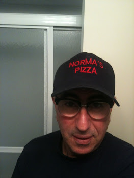 Wow, Paulie Gee is wearing a Norma&#39;s Pizza hat!!!