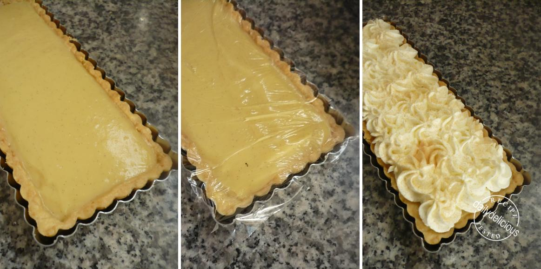 ... Bakers #10: Easy as Pie (August 2011): Rum - Vanilla Cream Pie