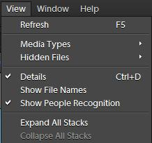 When we launch Elements Organizer, we don't see file names by default in image-well !!! Let's see how can be see file-names just below each thumbnail in Organizer...Image below shows a view when only thumbnails are shown in Organizer and no names...Go to Edit Menu where you see 'Show File Names' disabled. To enable this option, just check the option for 'Details' ...Here is what you should see after checking the option for 'Details'...After checking Details, it starts showing star rating and date...Next step is to check 'Show File Names' to see names along with Star-rating and Date/Time under thumbnails...After checking this option we see file names :)Few more things to note - - These details also go away if we reduce the size of thumbnails...- There is another way to mark Details On ; In 8th version there is a checkbox just above image-well !!!