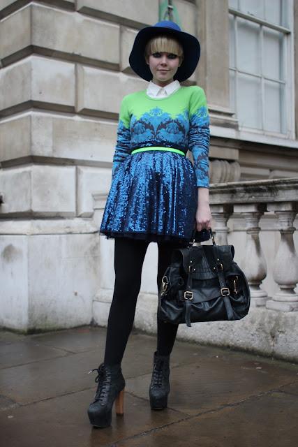 Styleeast London Fashion Week Street Style Stella Does Neon