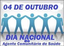 04 DE OUTUBRO, DIA NACIONAL DOS ACS.