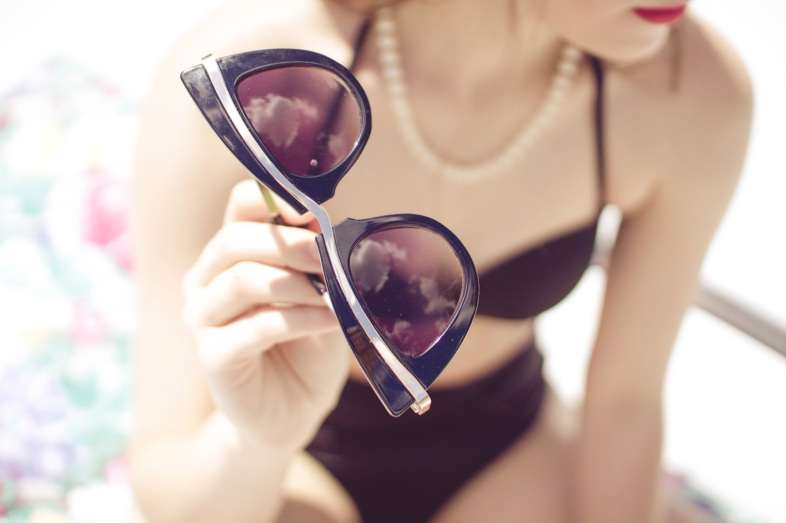 Asos, cat eye sunglasses, sunglasses, retro, vintage