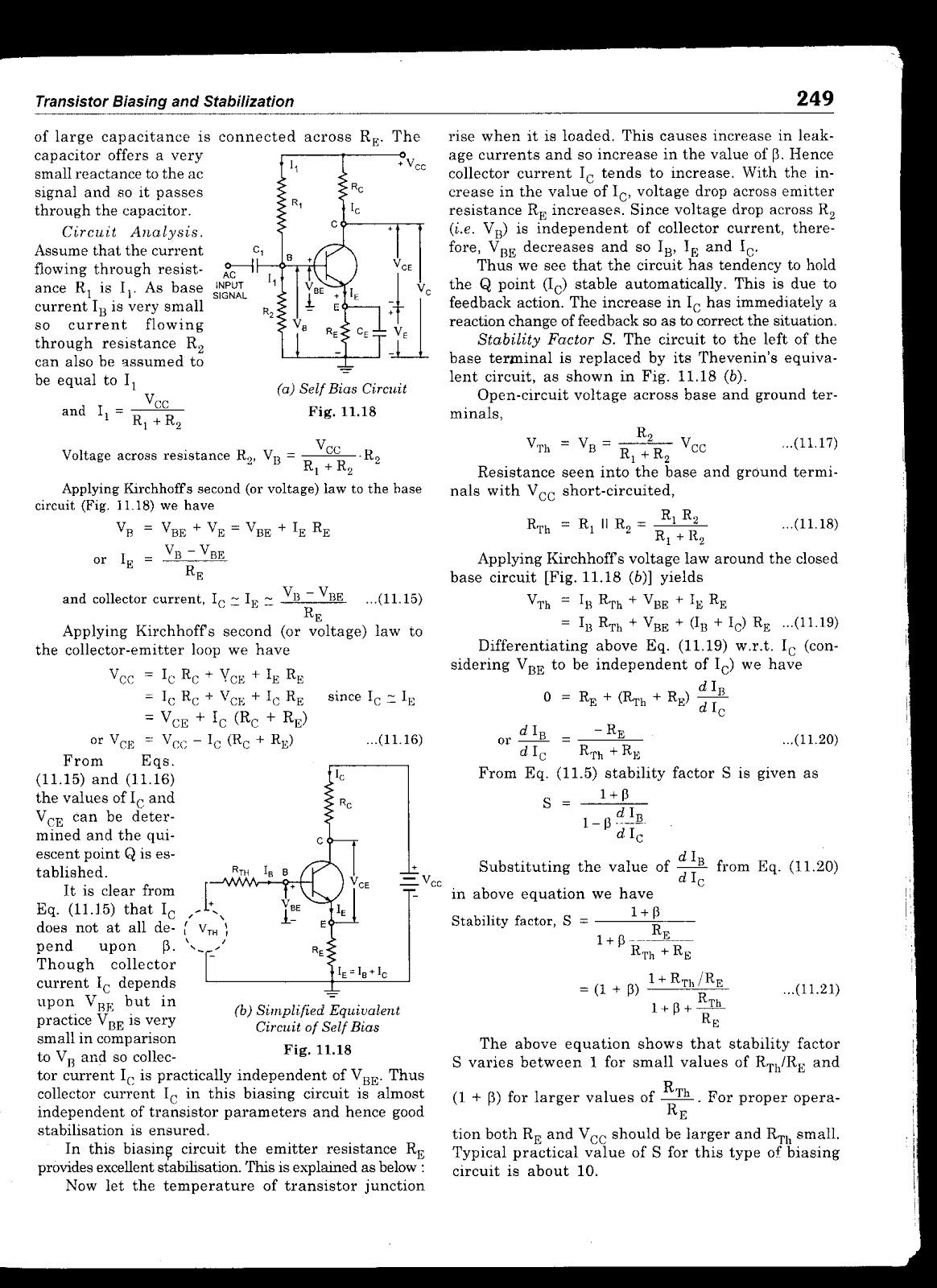 Transistor Biasing Circuits Jbgupta Electrical Engg Lectures Electronic Circuit By Jb Gupta