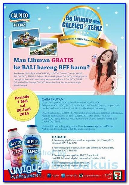 Promo Berhadiah Liburan Gratis Ke Bali